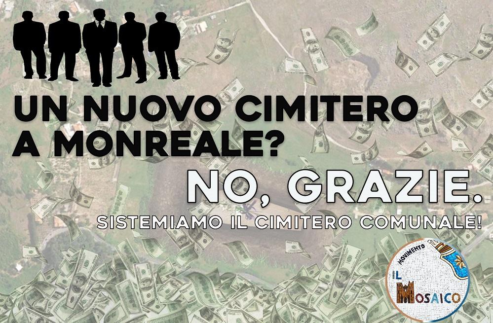 """Nuovo cimitero a Pioppo, Gambino: """"Nostro gruppo si opporrà"""""""