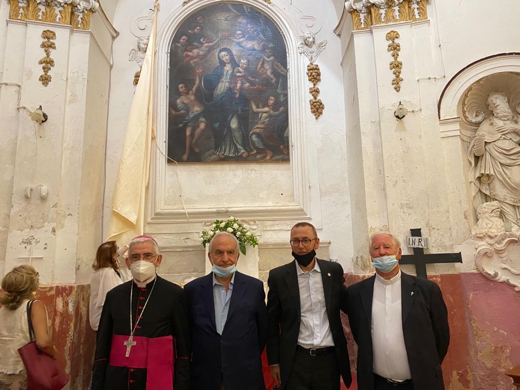 La Madonna del Lume restituita ai fedeli: encomio a poliziotti che l'hanno ritrovata