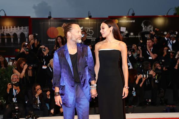 L'attrice monrealese Dajana Roncione e il cantante Thom Yorke si sposano