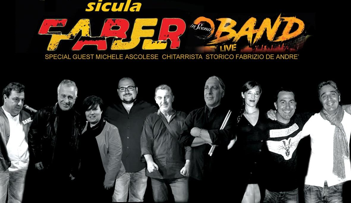 Monreale, tributo a Fabrizio De Andrè con Sicula Faber Band e Michele Ascolese