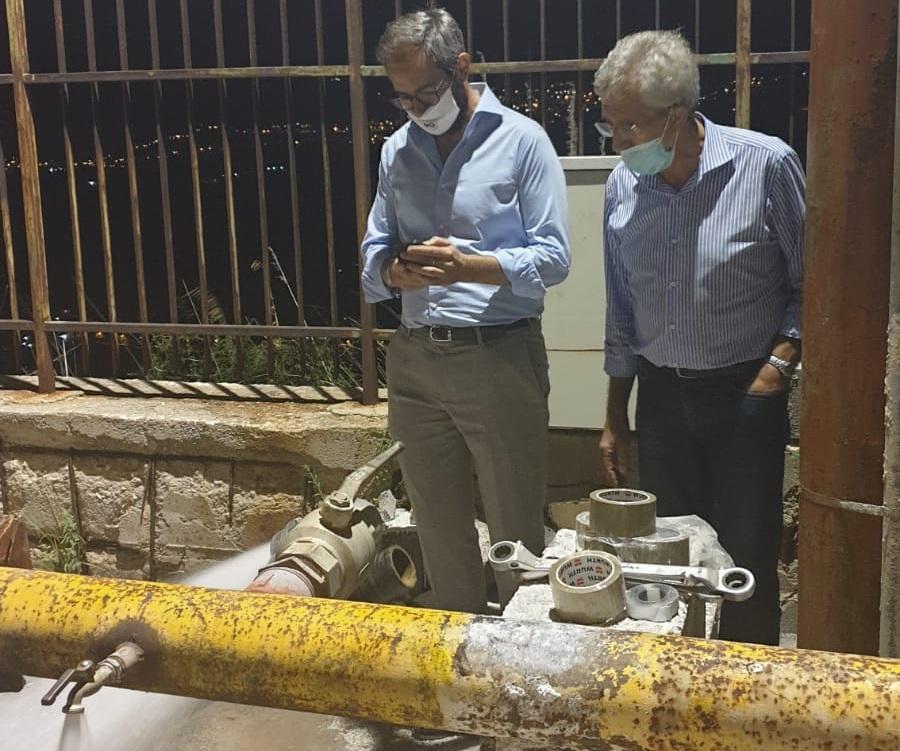 Acqua non potabile, in attesa delle analisi dell'Asp interventi ai pozzi comunali