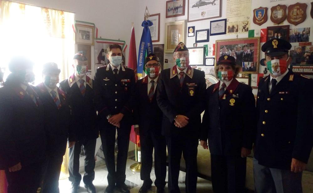 """Il colonnello De Simone lascia Monreale e saluta i """"colleghi"""" dell'Anps"""