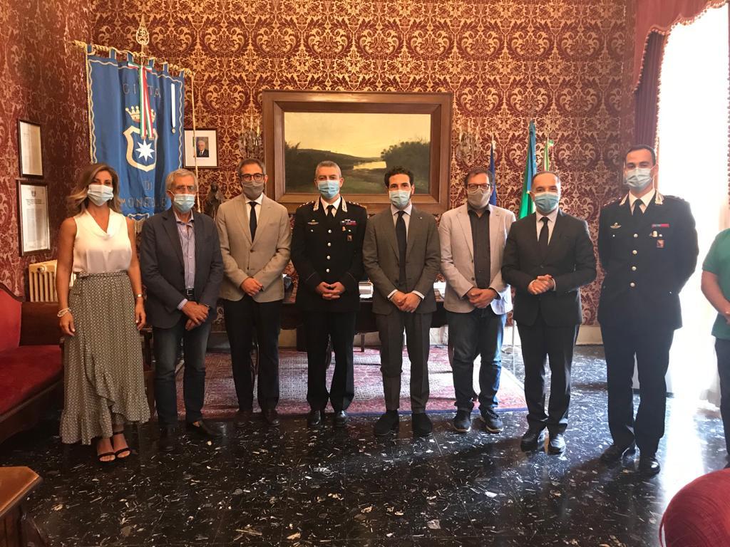 Si insedia nuovo comandante carabinieri di Monreale: il saluto del sindaco