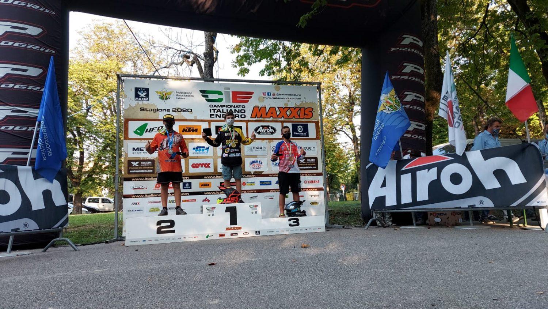 Il pioppese Gennaro Utech campione italiano MiniEnduro per la terza volta