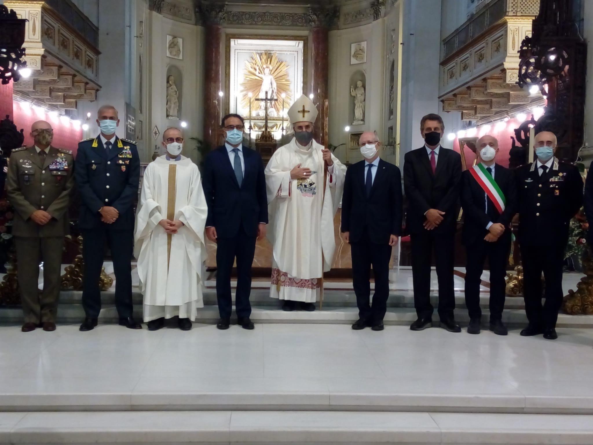 Una messa in Cattedrale per San Michele: la Polizia celebra il suo Patrono