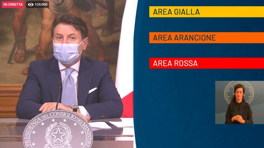 """Sicilia verso la """"zona rossa"""": oggi la decisione del Governo"""