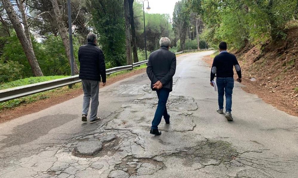 San Martino, consegnati i lavori di rifacimento delle strade della frazione