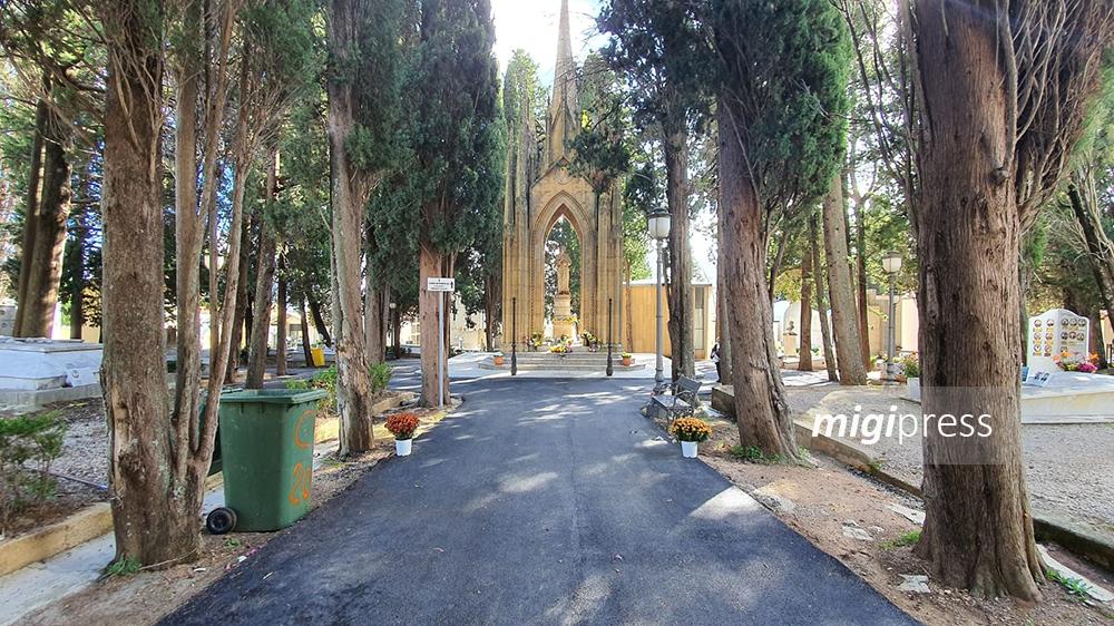 Covid, cambia l'orario di apertura del cimitero comunale a Monreale