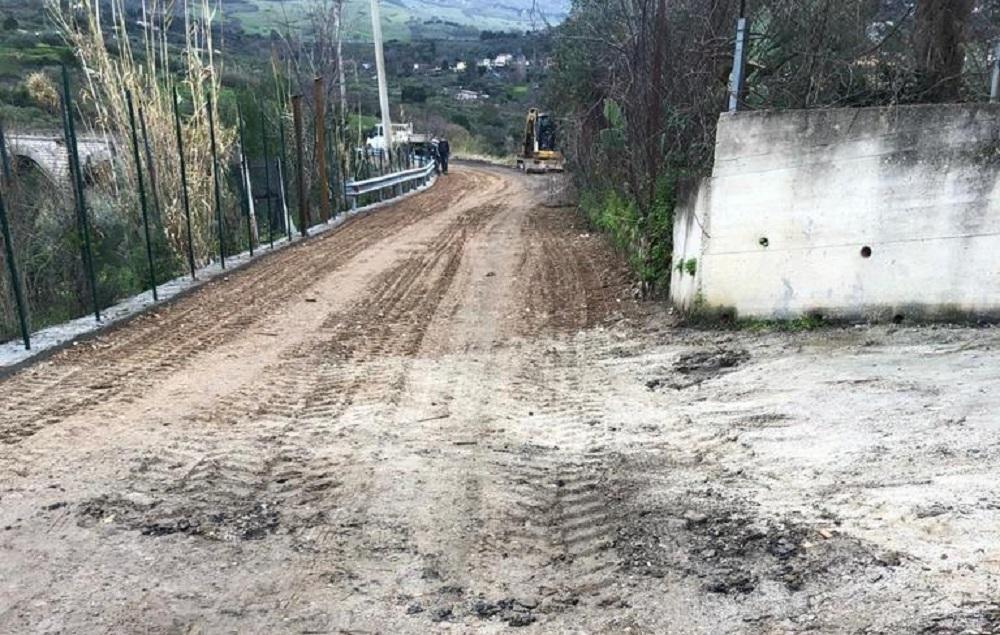 Monreale, al via la messa in sicurezza di via Linea Ferrata