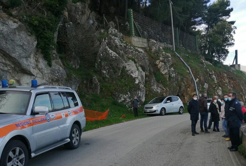 """La frana sulla SP5 Bis tra Piana e Altofonte, """"servono interventi urgenti"""""""