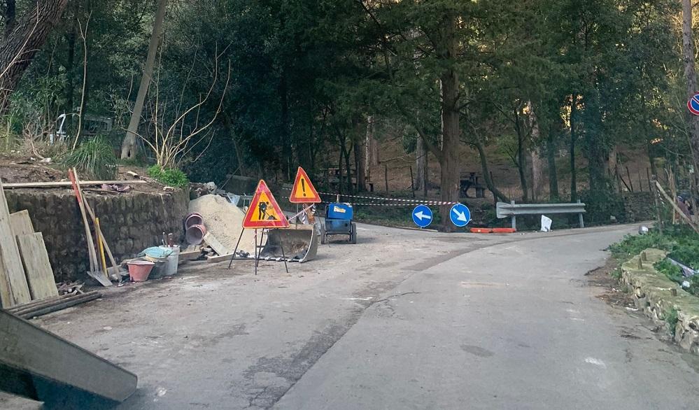 San Martino, via ai lavori di messa in sicurezza di Contrada Rinazzo