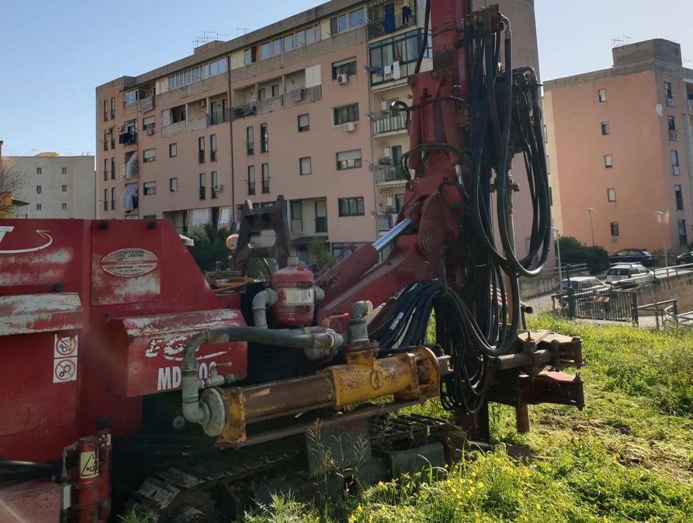 Monreale, messa in sicurezza di piazzale Candido: iniziate le indagini geotecniche