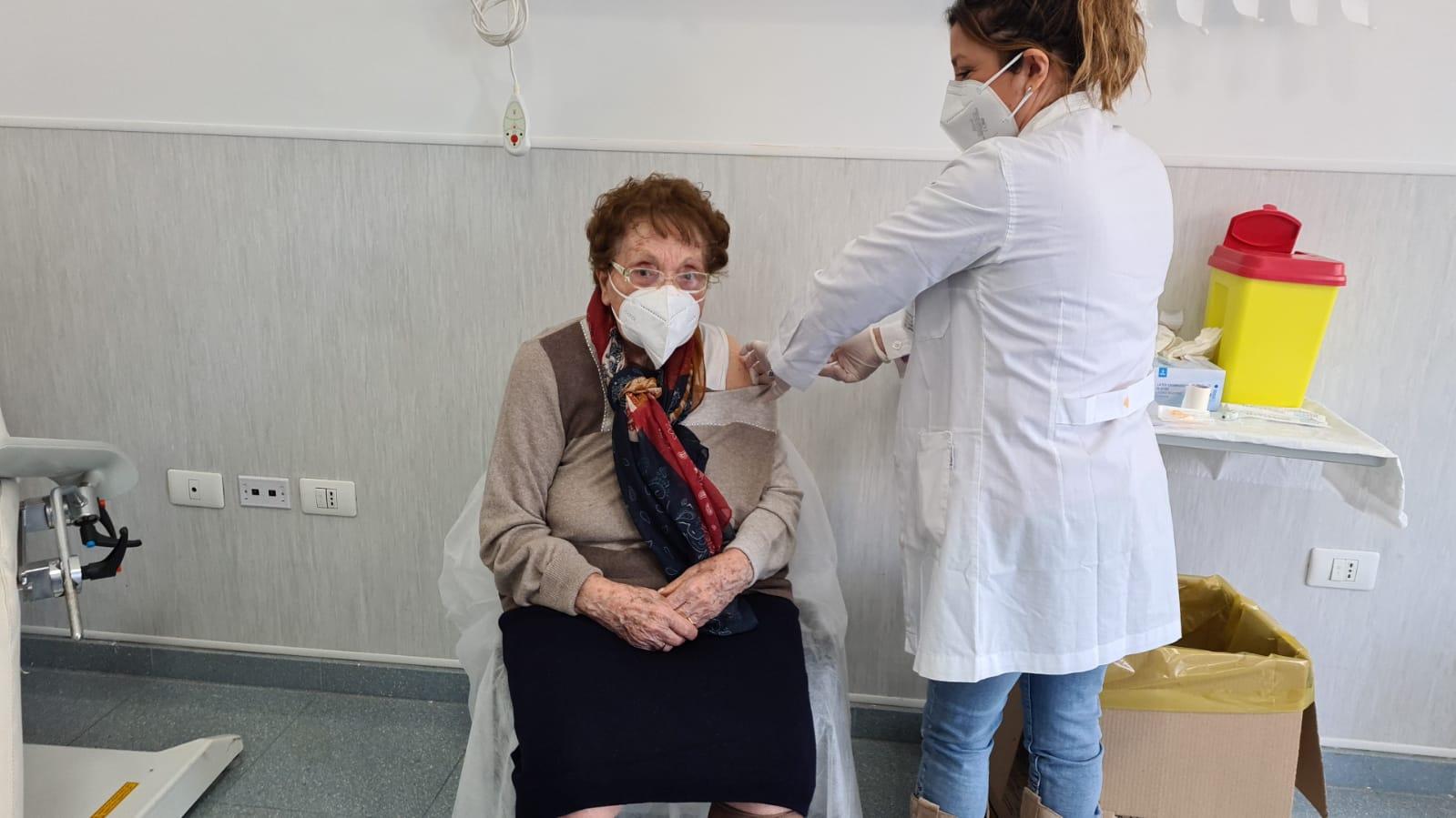 Covid, all'Ingrassia vaccinati 130 over 80 residenti a Monreale. L'intesa con l'Asp