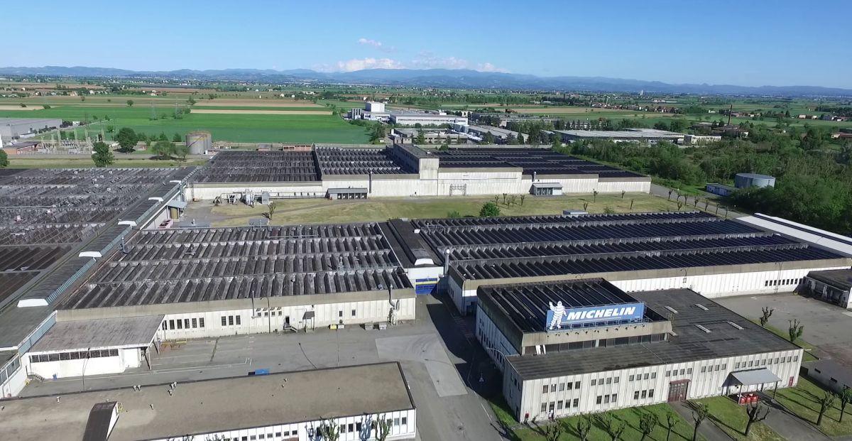 Lo stabilimento Michelin di Alessandria compie 50 anni