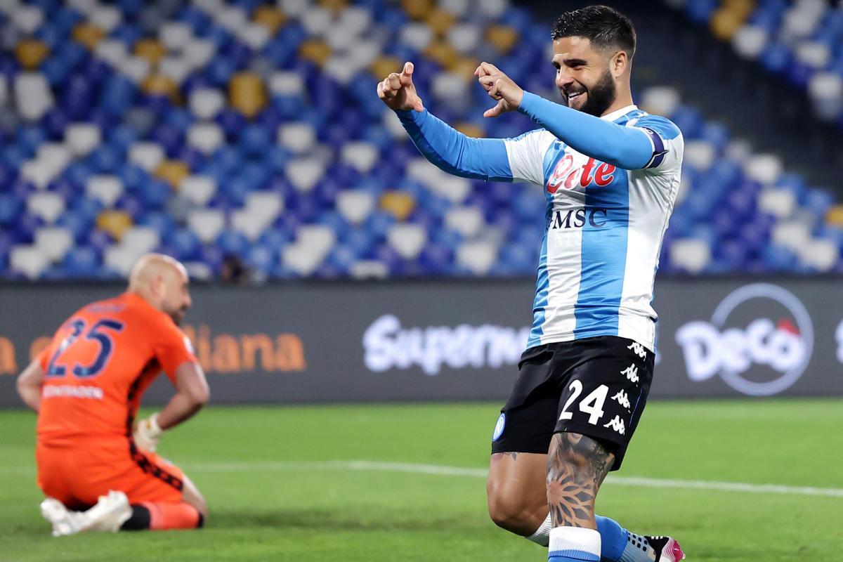 Sette gol al Maradona, Napoli-Lazio 5-2