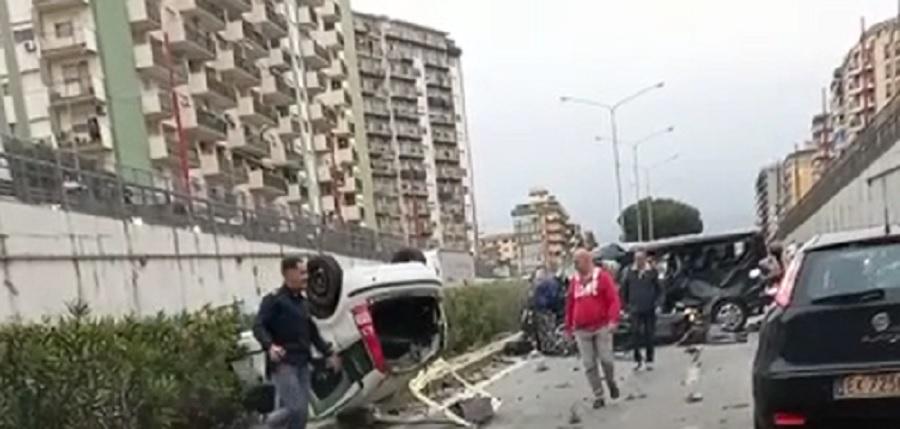 Incidente in viale Regione Siciliana: morta giovane di 21 anni. Due feriti gravi